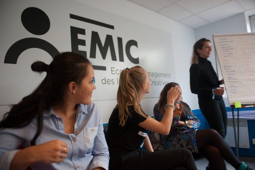 professionnalisation à l'EMIC