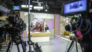 Plateau de tournage télévision web